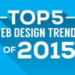 TOP 5 WEB DESIGN TRENDS OF 2015