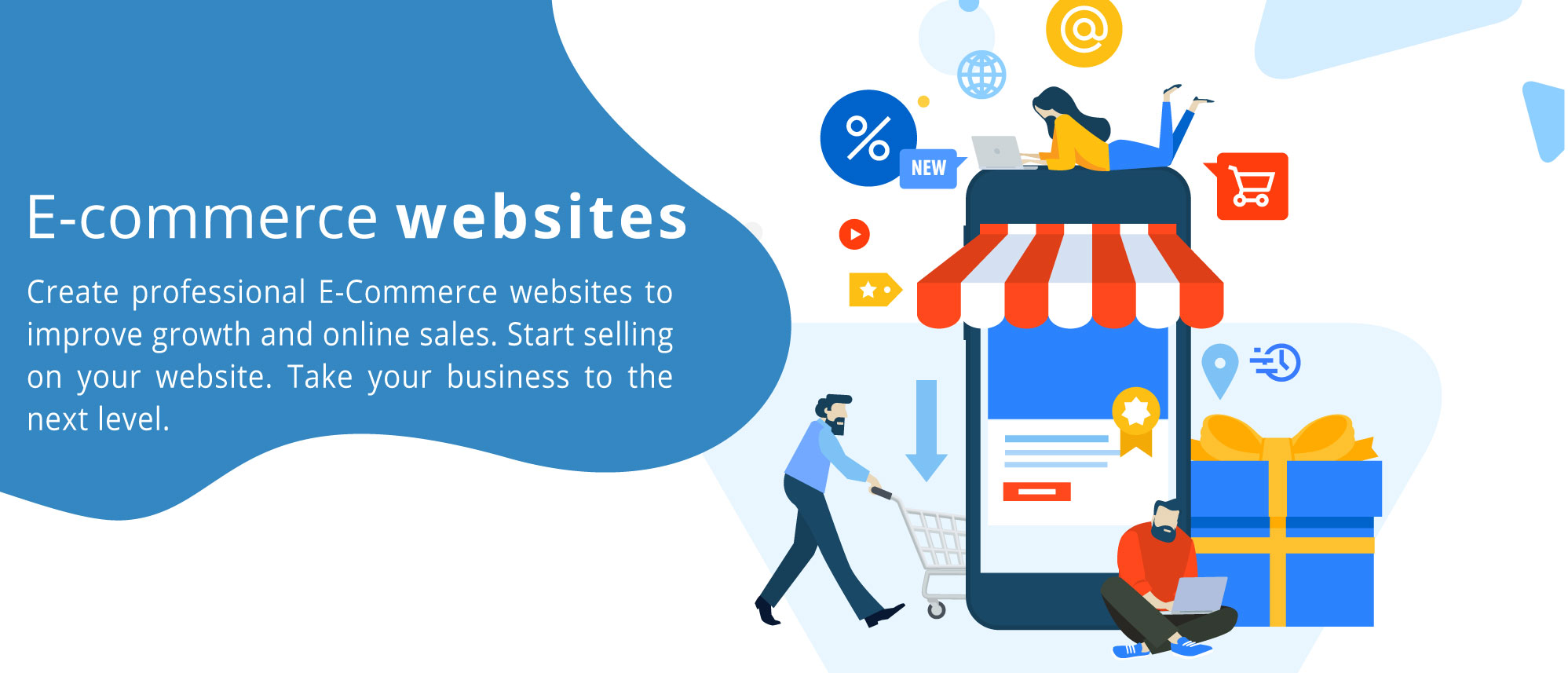 E-Commerce Lebanon, Create professional E-commerce websites to improve growth and online sales