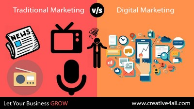 Digital Marketing Facing Traditional Marketing