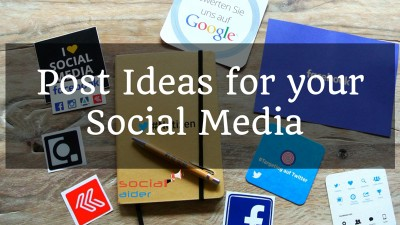 How To Get New Ideas For Your Social Media