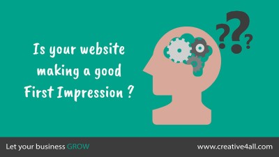 Importance of Leaving a Good First Impression When Visiting Your Website
