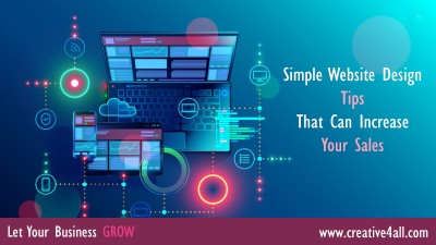 Simple Website Design Tips That Can Increase Your Sales