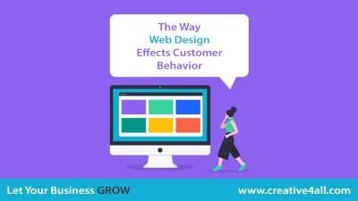 The Way Web Design Effects Customer Behavior